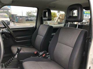 2007 Suzuki Jimny SN413 T6 JLX White 5 Speed Manual Hardtop