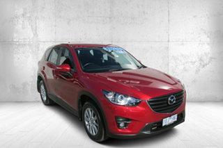 2015 Mazda CX-5 KE1022 Maxx SKYACTIV-Drive AWD Sport Red 6 Speed Sports Automatic Wagon.