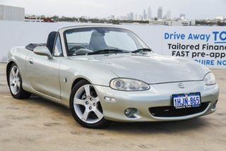 2003 Mazda MX-5 NB30P3 Silver 6 Speed Manual Softtop.