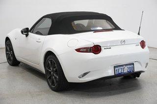 2016 Mazda MX-5 ND GT SKYACTIV-MT White 6 Speed Manual Roadster.