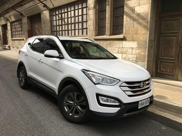 Used Hyundai Santa Fe DM2 MY15 Active Cheltenham, 2015 Hyundai Santa Fe DM2 MY15 Active White 6 Speed Sports Automatic Wagon