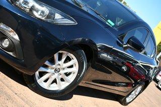 2015 Mazda 3 BM Touring Blue 6 Speed Automatic Sedan.
