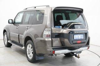 2014 Mitsubishi Pajero NX MY15 GLS Ironbark 5 Speed Sports Automatic Wagon.