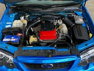 2004 Ford Falcon BA Mk II XR6 Turbo Blue 6 Speed Manual Sedan
