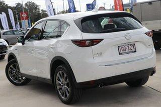 2020 Mazda CX-5 KF4WLA 100th Anniversary SKYACTIV-Drive i-ACTIV AWD White 6 Speed Sports Automatic.