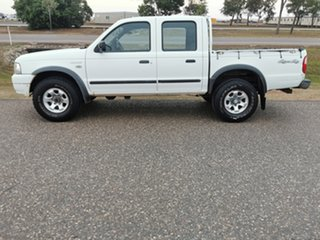 2005 Ford Courier PH XL Crew Cab White 5 Speed Manual Utility