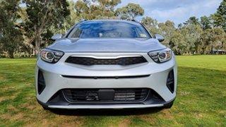 2021 Kia Stonic YB MY22 S FWD Silky Silver 6 Speed Automatic Wagon.