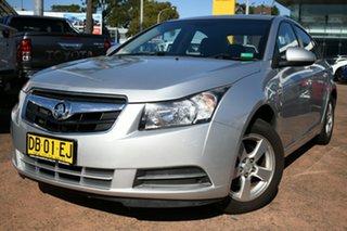 2010 Holden Cruze JG CD Silver 6 Speed Automatic Sedan.