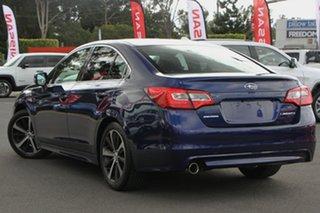 2016 Subaru Liberty B6 MY16 2.5i CVT AWD Premium Blue 6 Speed Constant Variable Sedan.