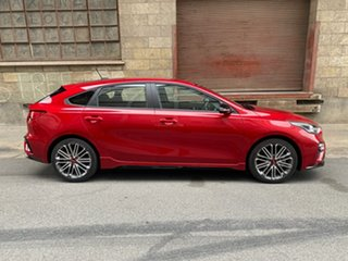 2021 Kia Cerato BD MY21 GT DCT Runway Red 7 Speed Sports Automatic Dual Clutch Hatchback.