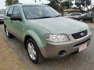 2008 Ford Territory SY TS Green 4 Speed Sports Automatic Wagon.