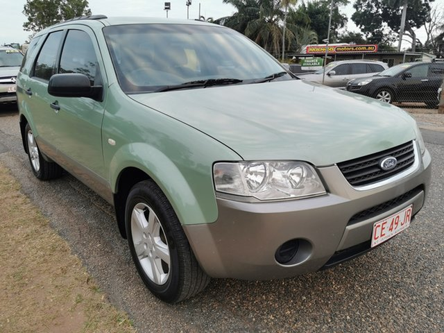 Used Ford Territory SY TS Pinelands, 2008 Ford Territory SY TS Green 4 Speed Sports Automatic Wagon