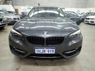 2014 BMW 220i F22 MY15 Sport Line Grey Shadow 8 Speed Automatic Coupe.