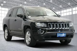 2013 Jeep Compass MK MY14 North Black 6 Speed Sports Automatic Wagon.