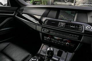 2011 BMW 5 Series F10 MY0311 520d Steptronic Silver 8 Speed Automatic Sedan