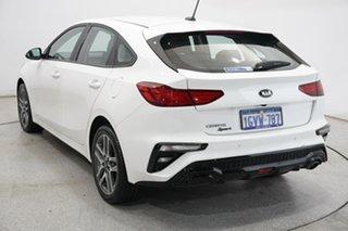2019 Kia Cerato BD MY19 Sport Clear White 6 Speed Sports Automatic Hatchback.