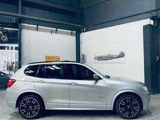 2014 BMW X3 F25 LCI MY0414 xDrive30d Steptronic Silver 8 Speed Sports Automatic Wagon.