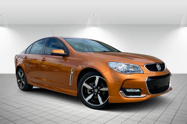 Used Holden Commodore VF II MY17 SV6 Hervey Bay, 2017 Holden Commodore VF II MY17 SV6 Orange 6 Speed Sports Automatic Sedan