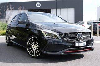 2016 Mercedes-Benz A-Class W176 807MY A250 D-CT 4MATIC Sport Black 7 Speed.