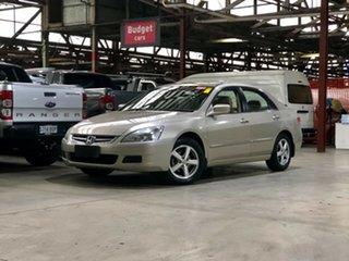 2005 Honda Accord 7th Gen VTi Beige 5 Speed Automatic Sedan.