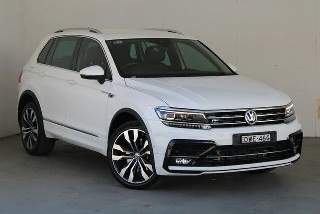 Used Volkswagen Tiguan 5N MY18 162TSI DSG 4MOTION Highline Phillip, 2018 Volkswagen Tiguan 5N MY18 162TSI DSG 4MOTION Highline White 7 Speed