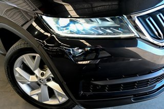 2018 Skoda Kodiaq NS MY18.5 140TDI DSG Black 7 Speed Sports Automatic Dual Clutch Wagon.