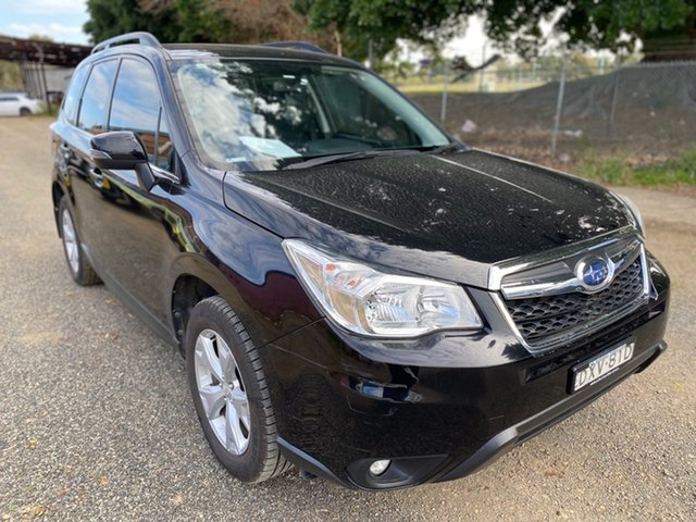 Used Subaru Forester S4 MY14 2.5i Lineartronic AWD Wickham, 2014 Subaru Forester S4 MY14 2.5i Lineartronic AWD Black 6 Speed Constant Variable Wagon