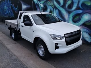 2020 Isuzu D-MAX MY19 SX 4x2 High Ride Mineral White 6 Speed Sports Automatic Cab Chassis.