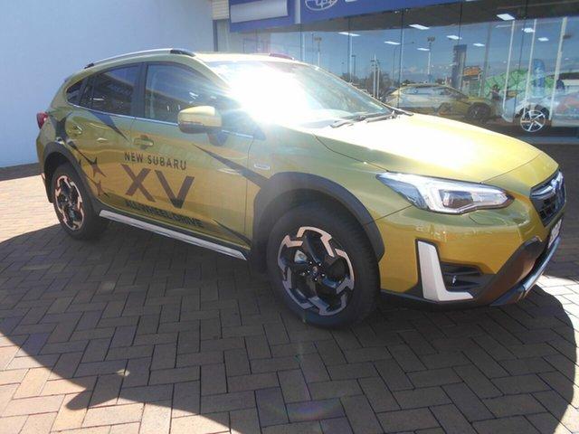 Demo Subaru XV MY21 Hybrid S AWD Toowoomba, 2020 Subaru XV MY21 Hybrid S AWD Plasma Yellow Continuous Variable Wagon