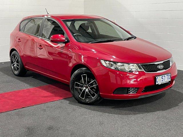 Used Kia Cerato TD MY12 SI Glenorchy, 2012 Kia Cerato TD MY12 SI Red 6 Speed Manual Hatchback