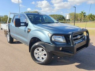 2014 Ford Ranger PX XL Blue 6 Speed Manual Utility.