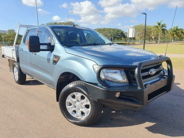 Used Ford Ranger PX XL Townsville, 2014 Ford Ranger PX XL Blue 6 Speed Manual Utility