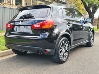 2015 Mitsubishi ASX XB MY15.5 XLS 2WD Black 6 Speed Constant Variable Wagon.