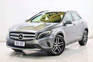 2016 Mercedes-Benz GLA180 X156 MY16 Grey 7 Speed Auto Dual Clutch Wagon.