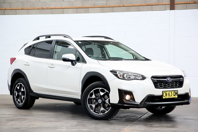 Used Subaru XV G5X MY18 2.0i-L Lineartronic AWD Erina, 2018 Subaru XV G5X MY18 2.0i-L Lineartronic AWD White 7 Speed Constant Variable Wagon