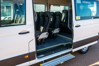 2021 Volkswagen Crafter SY1 MY21 Minibus MWB FWD TDI410 Candy White 8 Speed Automatic Bus