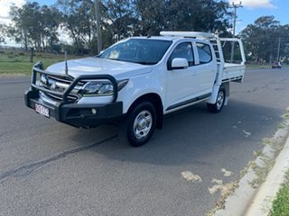 2017 Holden Colorado RG MY17 LS (4x4) White 6 Speed Automatic Crew Cab Chassis