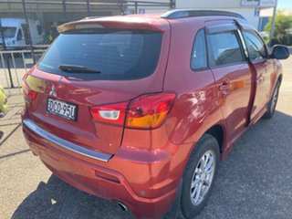 2010 Mitsubishi ASX XA MY11 2WD Red 6 Speed Constant Variable Wagon