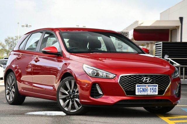 Used Hyundai i30 PD MY18 SR Clarkson, 2017 Hyundai i30 PD MY18 SR Red 6 Speed Manual Hatchback