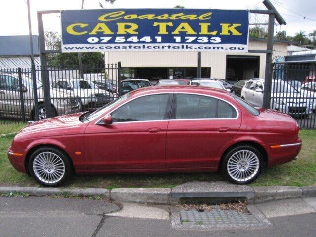 Used Jaguar S-Type MY06 3.0 Diesel Luxury Nambour, 2006 Jaguar S-Type MY06 3.0 Diesel Luxury Red 6 Speed Automatic Sedan