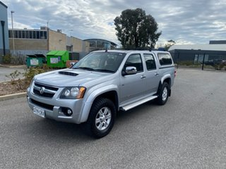 2011 Holden Colorado RC MY11 LT-R Crew Cab Silver 4 Speed Automatic Utility.