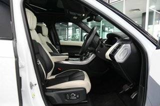 2019 Land Rover Range Rover Sport L494 20MY Autobiography Dynamic White 8 Speed Sports Automatic.