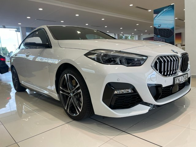 Demo BMW 2 Series F44 220i Gran Coupe DCT Steptronic M Sport Newcastle West, 2021 BMW 2 Series F44 220i Gran Coupe DCT Steptronic M Sport Alpine White 7 Speed