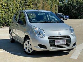 2009 Suzuki Alto GF GL Silver 4 Speed Automatic Hatchback.