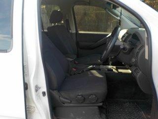 2009 Nissan Navara D40 ST-X (4x4) White 5 Speed Automatic Dual Cab Pick-up