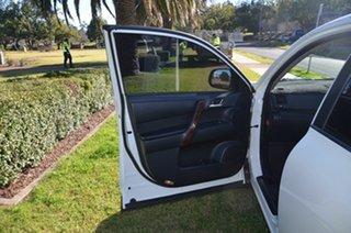2011 Toyota Kluger GSU45R MY11 Upgrade Grande (4x4) White 5 Speed Automatic Wagon