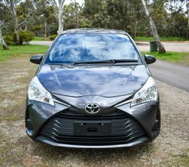 2017 Toyota Yaris NCP130R Ascent Grey 4 Speed Automatic Hatchback