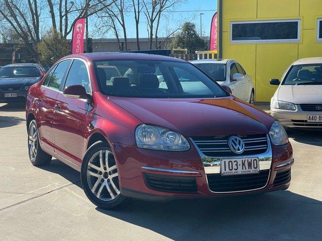 Used Volkswagen Jetta 1KM MY07 FSI Toowoomba, 2007 Volkswagen Jetta 1KM MY07 FSI Red 6 Speed Manual Sedan