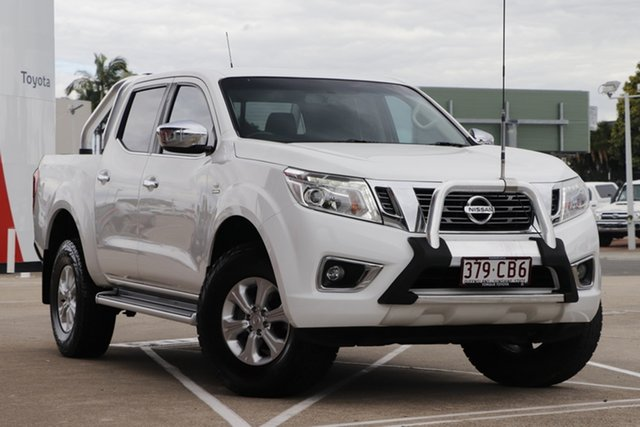 Pre-Owned Nissan Navara D23 S2 ST Albion, 2017 Nissan Navara D23 S2 ST White 7 Speed Sports Automatic Utility