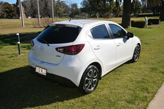 2015 Mazda 2 DJ MY16 Genki White 6 Speed Automatic Hatchback.